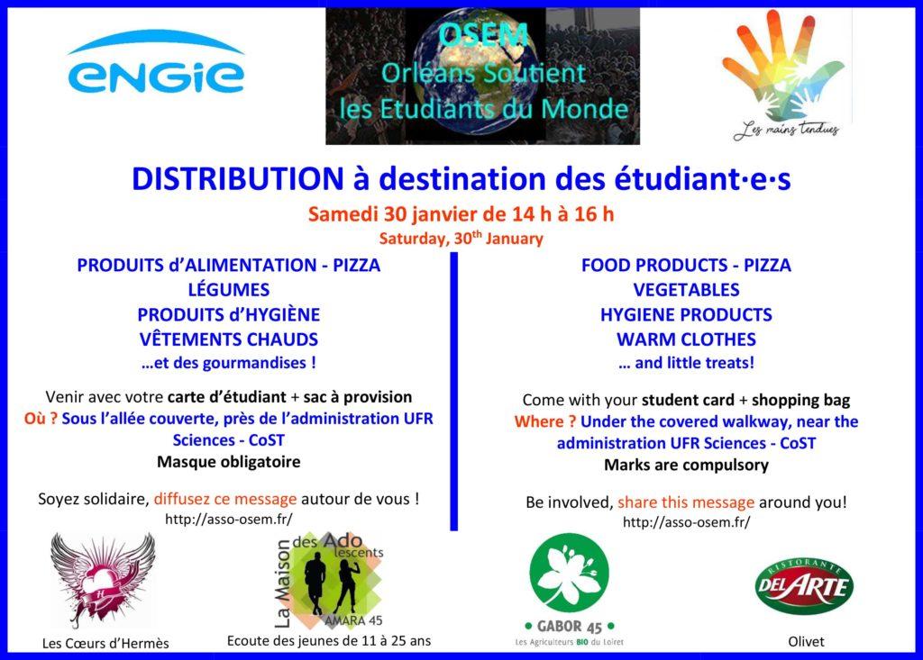 Flyer de la distribution : à partager LARGEMENT !